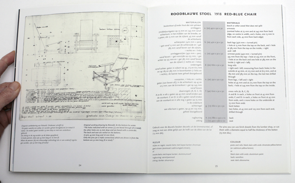 Johannes Niemeijer, Rietveld meubels / Rietveld furniture,                               ,