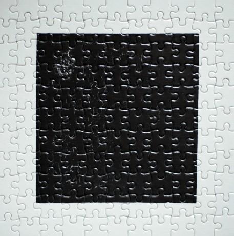 Johannes Niemeijer, Zwarte Vierkant / Black Square,                               ,